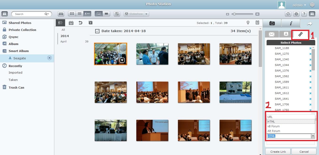 5 - Smart Photo Create Link