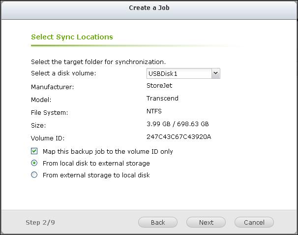 External Drive Backup | Qnap Advanced Support
