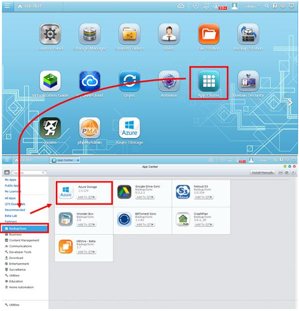 Qnap Cloud Backup Feature   Qnap Advanced Support