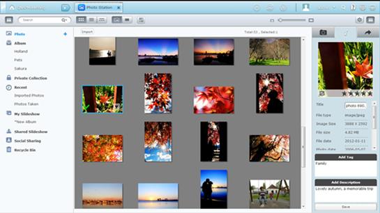 Qnap PhotoStation: Publish Your Photo Collection | Qnap