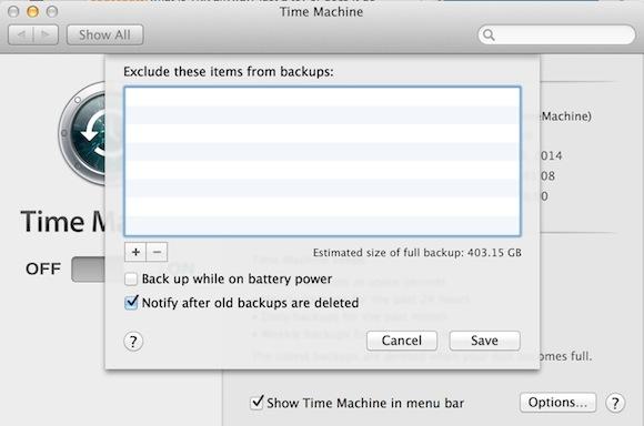 qnap time machine