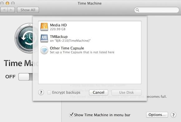 QNAP-TimeMachine-Select-Disk