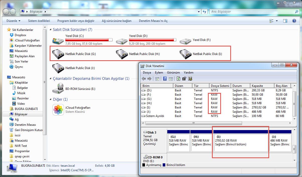 Qnap diskinternal linux reader1