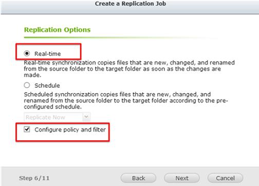 Qnap Real-time Remote Replication (RTRR) | Qnap Advanced Support