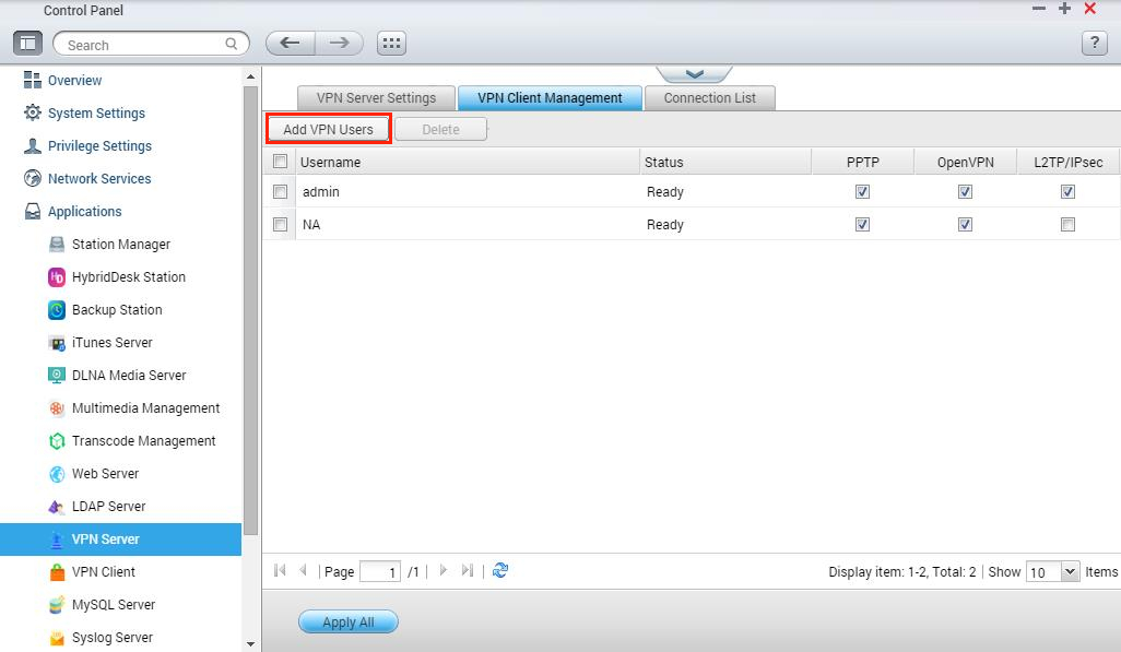 How To Set Up A Qnap Nas As A VPN Server?  Qnap Advanced Support