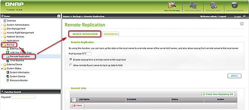 Qnap Remote Replication | Qnap Advanced Support