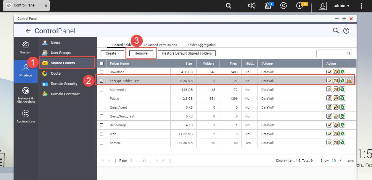 qnao folder remove 1