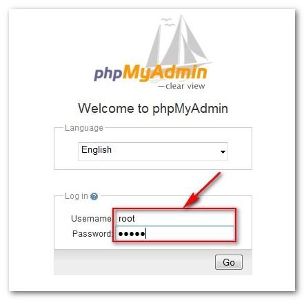 как узнать логин и пароль к phpmyadmin