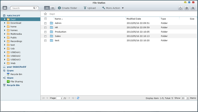 File Station: Access, Manage & Share Files On the Web Interface