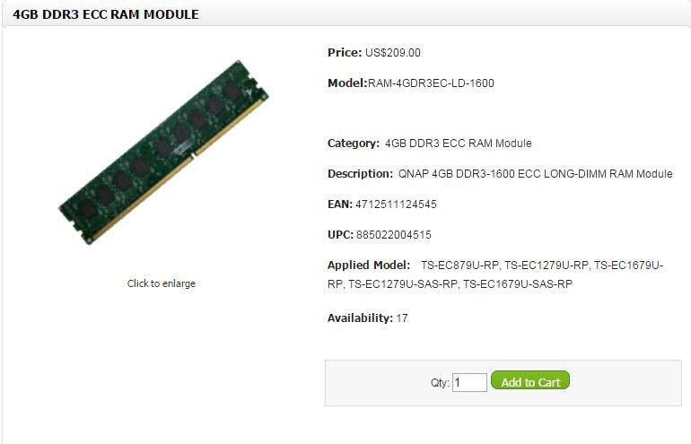 Qnap RAM Modules (10)