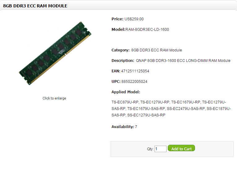 Qnap RAM Modules (12)