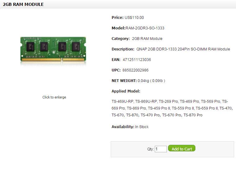 Qnap RAM Modules (9)