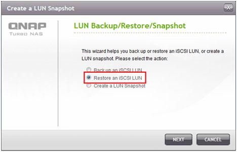 Qnap Incremental Lun Backup | Qnap Advanced Support