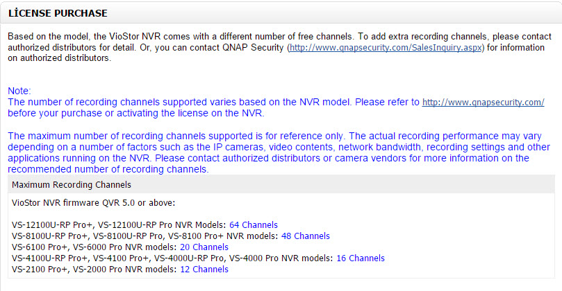 How to support additional recording channels on Surveillance