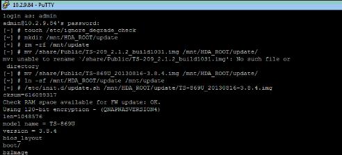 Qnap Firmware Downgrade | Qnap Advanced Support