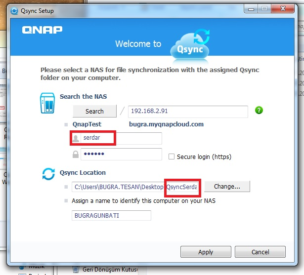 Qsync Other User