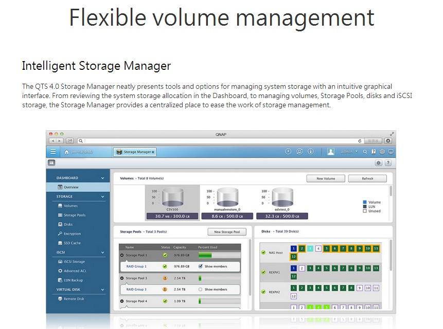 Qnap Storage Managment 1
