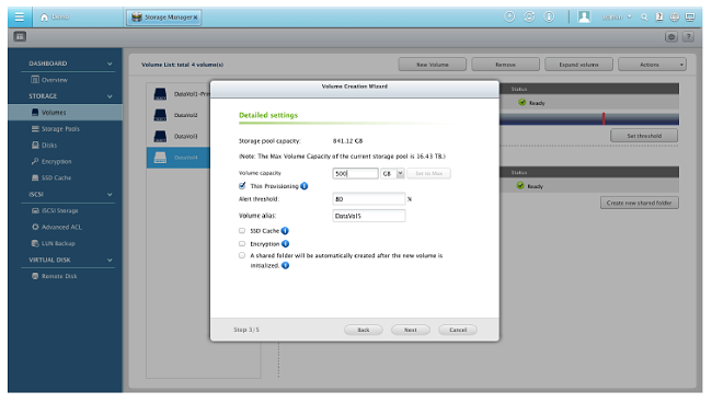 How to use QNAP Flexible Volume Management | Qnap Advanced Support