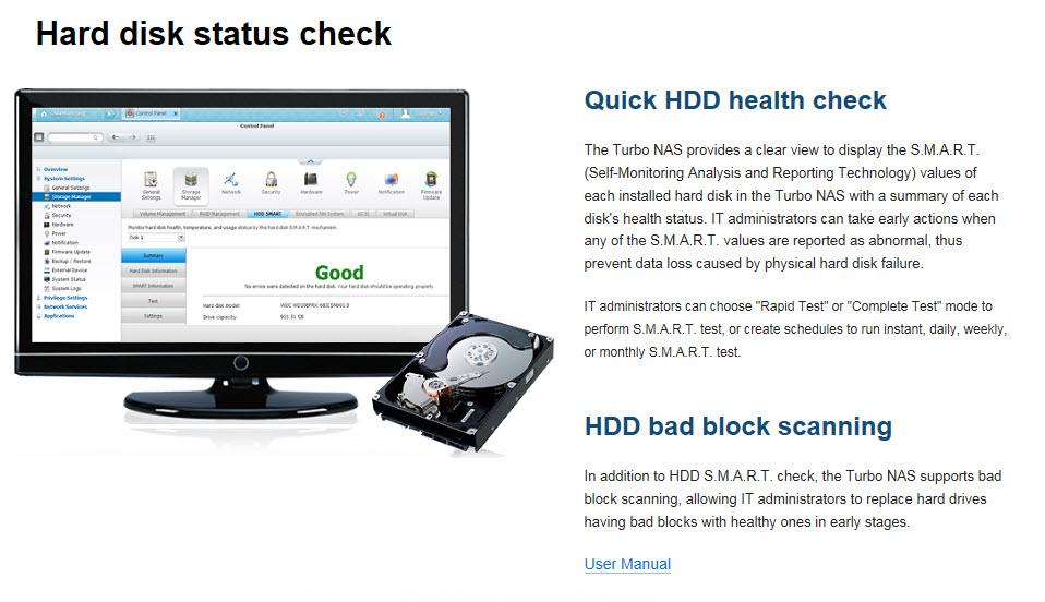 12 - HDD Status check