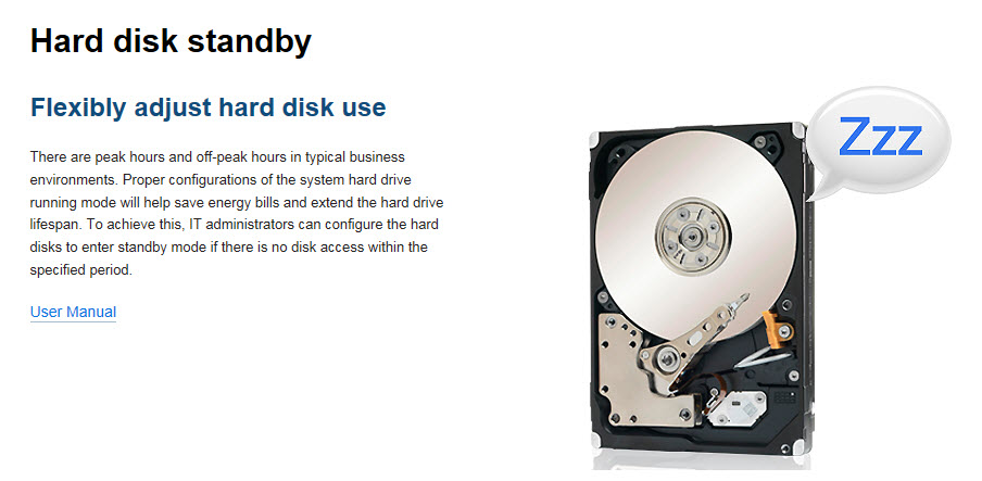 13 - HDD Standby
