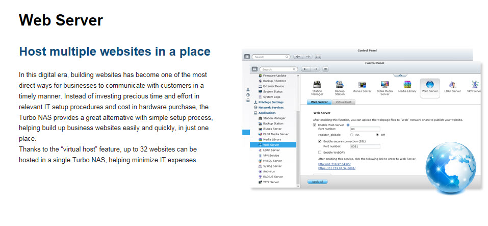 14 - Web Site hosting