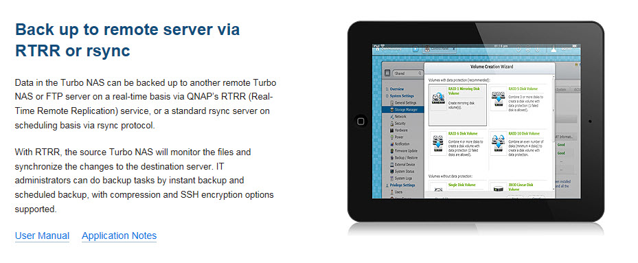4 - Backup features