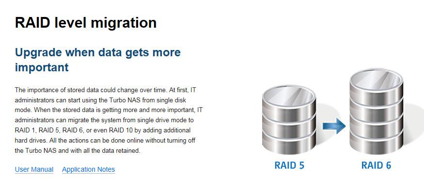 4 - RAID Support 3
