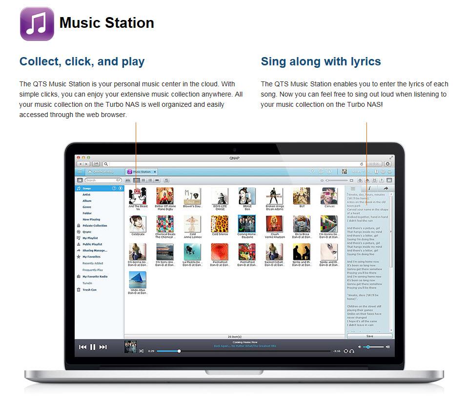 Music station 1