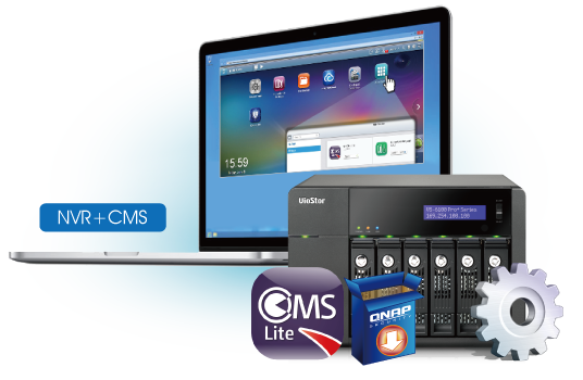 Qnap CMS (Central Managment Lite): Manage Up To 16 NVR & 256 Camera