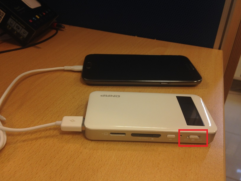 QGenie As Powerbank