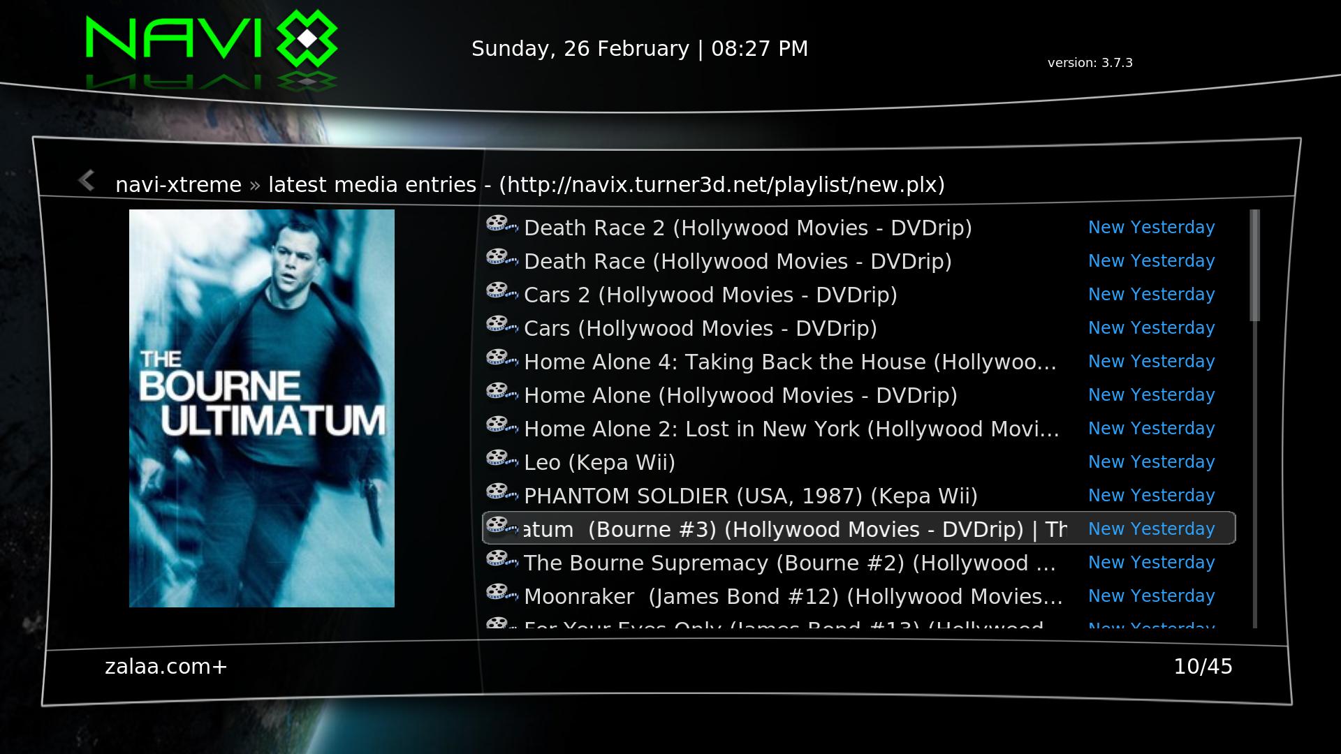 XBMC Live TV 2