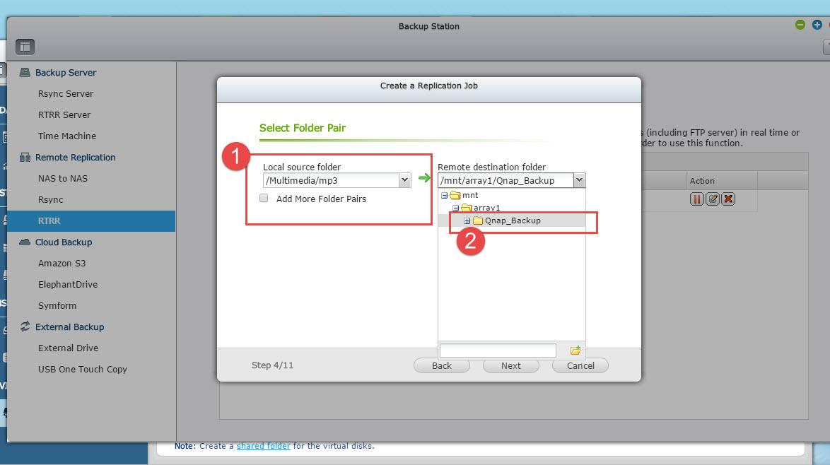 4 - choose folder 2