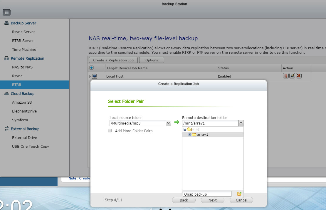 4 - choose folder