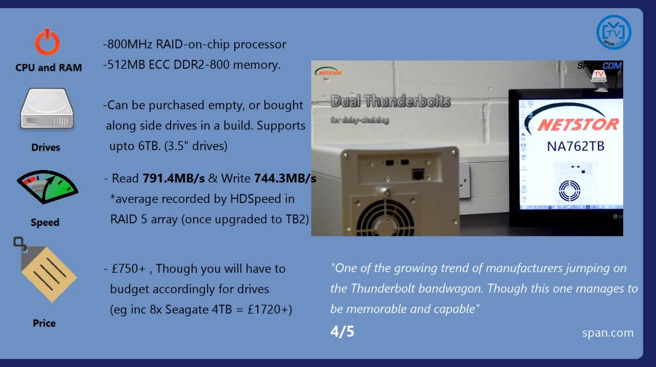 Netstor NA762TB thundebolt 2 benchmark (2)