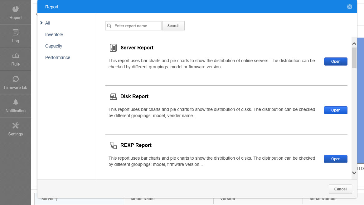 disk report 1