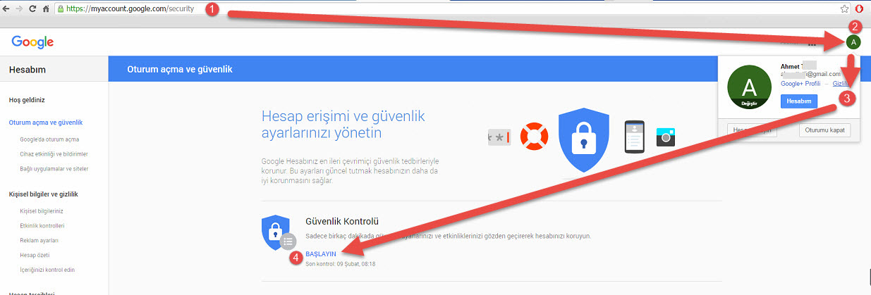 Qnap gmail problemi 1