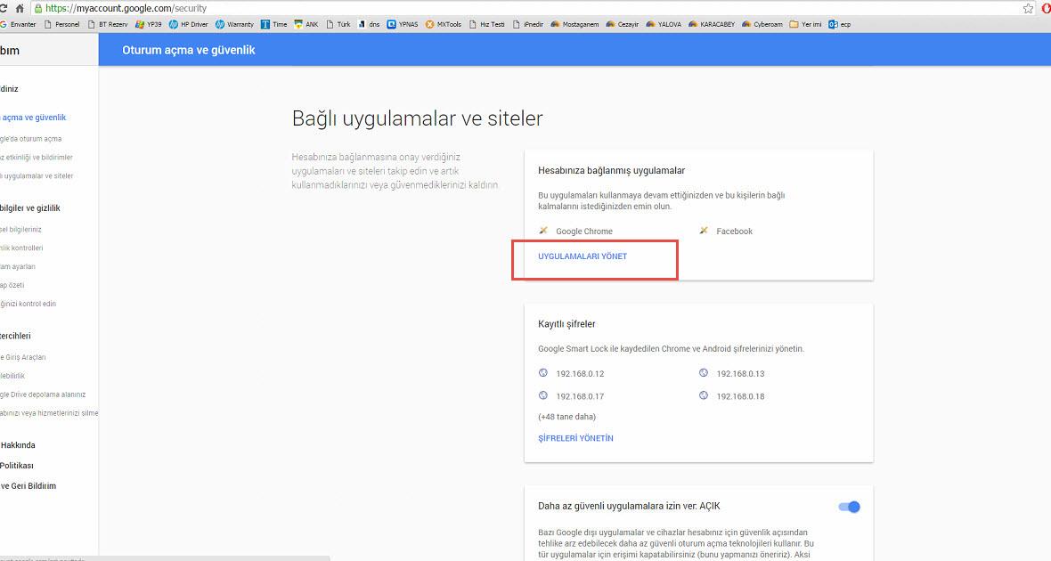 Qnap gmail problemi 2