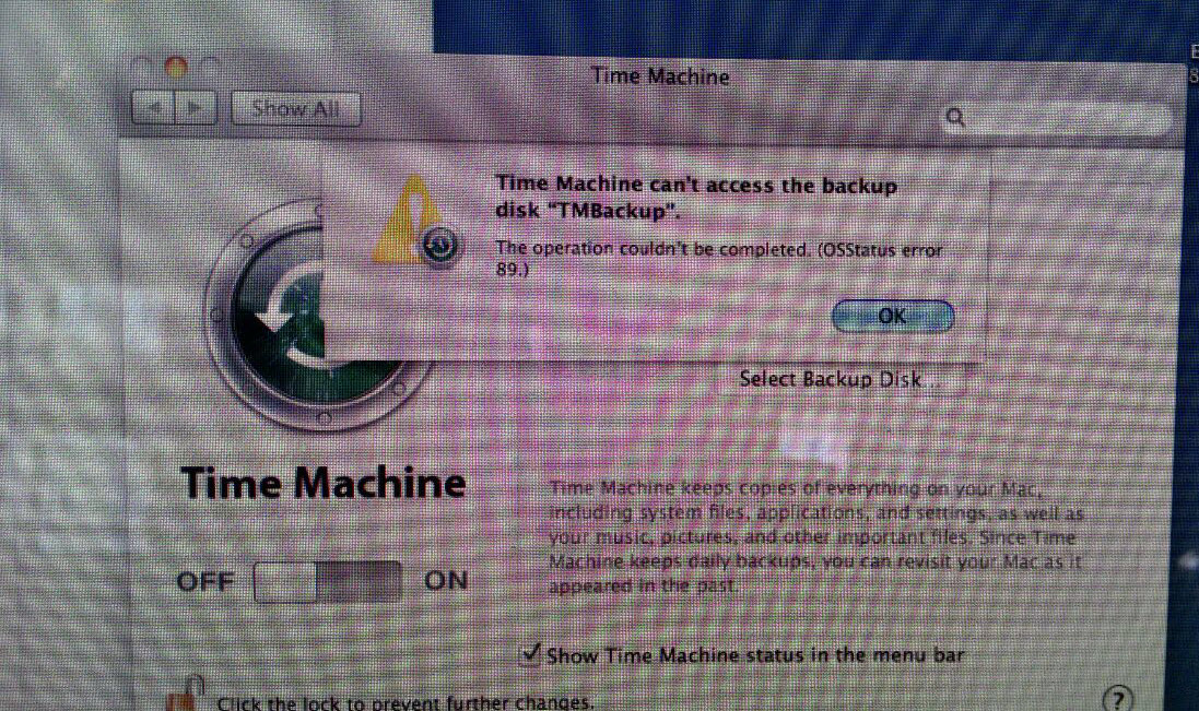time machine problem