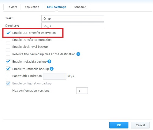 Backup From Synology to Qnap Fails And Synology Banned Qnap