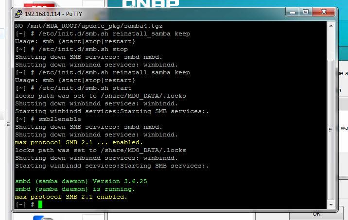 smb2.1 enable