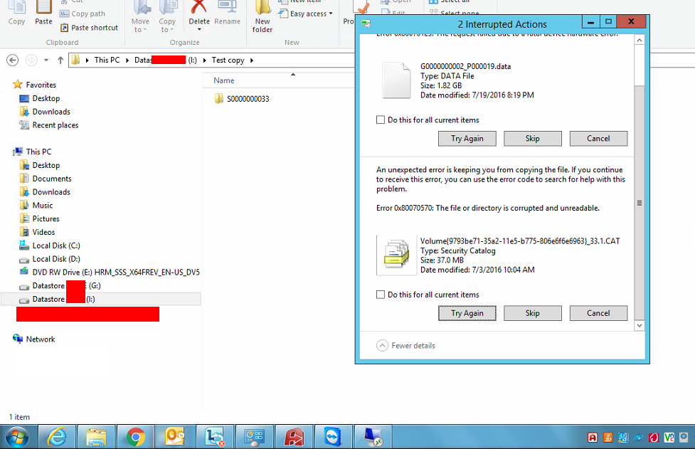 iscsi file system problem