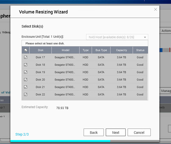 Qnap how to resize volume (10)