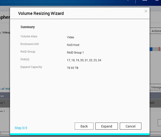 Qnap how to resize volume (11)