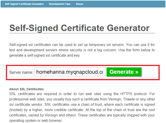 How To Purchase And Use myQNAPcloud SSL Certificates & How